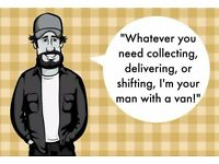 Man and Van - Small and Large Collections and Deliveries - Flat and Small Business Moves, & more...