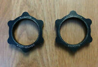 2 Centerlock to 6 bolt adapters with Shimano lockrings. Watch|Sh