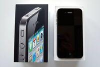 Black iPhone 4 32 GB Factory Unlocked Mint