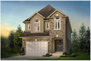 One Year Old Single 4-bedroom House, West End Guelph, $2000