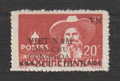 North Vietnam Stamps Indochine - Indochina Overprinted Scott # 1L13 MNH