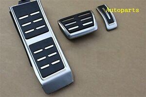 Original style DSG Sport Foot AT Pedal Plate Cover Set AUDI A4 S4 A5 A6 Q5 S5 A7