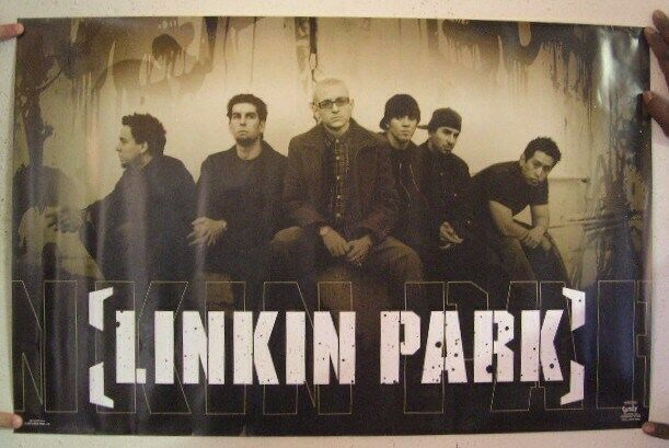 Linkin Park Poster Band Shot Bench