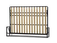 Wall Bed Classic, double horizontal 135x190