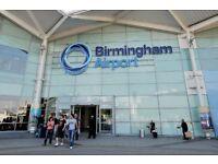 Birmingham Airport Journey