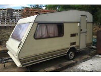 land wanted to store small caravan