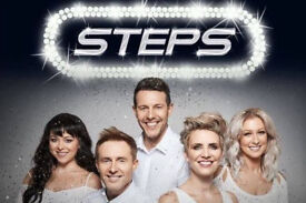 2 x TICKETS TO SEE STEPS - IN GLASGOW - THURSDAY 16TH NOVEMBER