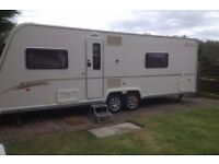 Space required to store a touring caravan or static caravan (within Solihull and surrounding areas)