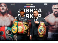 ANTHONY JOSHUA VS JOSEPH PARKER!! 2 HOTEL DOUBLE ROOMS FOR THE FIGHT NIGHT 31/3/18