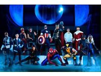10 + Marvel Universe Live *Block 102 + O2 VIP* Tickets, O2 arena London, weekday only
