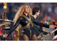 Two Hampden Beyoncé separate private area accessible tickets,excellent seating,next to Gold Circle