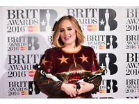 2x Brit Award Tickets **LOWER PRICE**