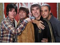 4 x stone roses tickets standing Glasgow