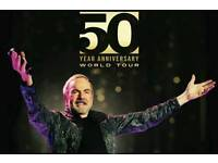 Neil Diamond Tickets - BEST SEATS - O2 Arena, London - 17th October