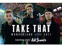 One Take That Ticket for Dublin for Monday 15th May for Sale £45 please contact me for details