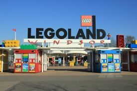 6 x Legoland tickets 8.09.18