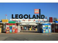 6 x Legoland tickets 8.09.18