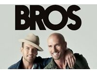 2 x Bros Tickets at The 02 Arena London