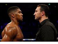 Anthony Joshua V Wladimir Klitschko Boxing Tickets - Wembley Stadium. Saturday 29th April 2017