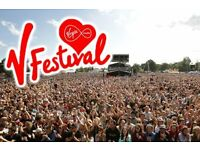V festival Ticket for weekend camping 20th and 21st August 2016, Weston park Stafford. £195