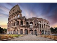 1 return ticket, London- Rome, 28 Dec- 31 Dec