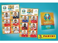 Panini Euro 2020 Stickers to Trade/Swap