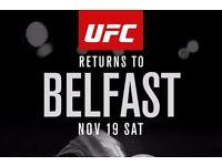 2x UFC Belfast tickets for sale - £230