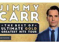 2 x Jimmy Carr Tickets 21/10/17