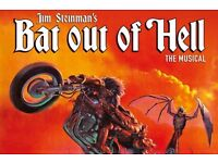 Meatloaf fans 2 tickets for Jim Steinman's BAT OUT OF HELL