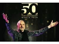 Neil Diamond Tickets - BEST SEATS - O2 Arena, London - 17th October