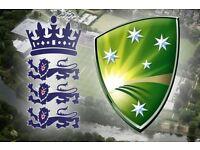 ****CHEAPER****England Vs Australia Champion Trophy Birmingham 4 Adults tickets £100