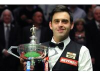 **World Snooker Championship Tickets 2018 **Final/ Semi Final**