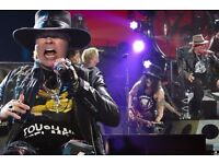 2 x Guns n Roses tickets for Slane Castle - 27 May - £300 for pair