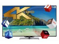 FINLUX 55'' Smart 3D LED TV 4K HD (55UT3E242S-T) BARGAIN LIKE NEW, ONLY £449.99