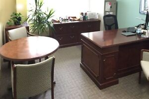Several furnished office spaces in downtown Calgary available