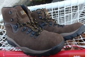 Coleman hiker waterproof hiking trails leather boots men's size