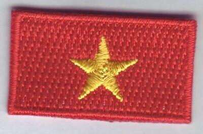 mini Vietnam  Aufbügler,Aufnäher,Patch 3,5 *2,0 cm