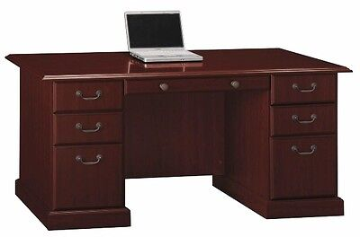 Managers Office Desk Cherry Finish Home Furniture Computer Executive Desks New