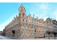 A one bedroom, furnished, duplex flat in the Merchant City on Brunswick Street (ACT 500)