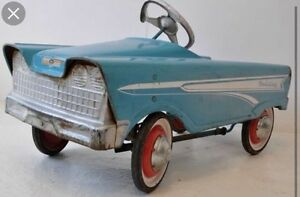 Wanted old pedal car