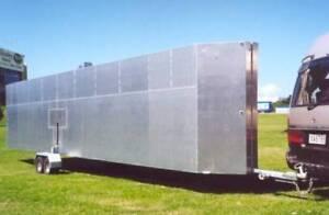 Myark self trailer folding pontoon, size = 9.6 x 3.600 X .600