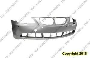 Bumper Front Primed With Sensor Hole Without Sport Package BMW 5-Series (E60) 2004-2007