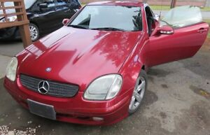 Mercedes Benz SLK320 Convertible