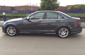 Mercedes c220 cdi 2008 Grey, Heated Leather Seats & Full Main Dealer History