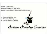 Commercial and Domestic Cleaners