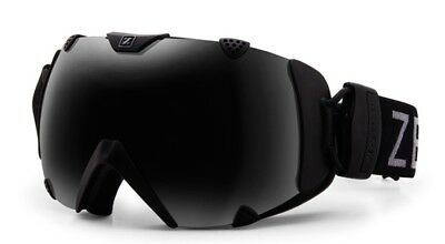 aea855faa610 NEW Zeal Eclipse Black Polarized Mens Spherical Ski Snowboard Goggles  Msrp 200