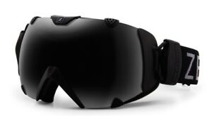 a70d2671cef NEW Zeal Eclipse Black Polarized Mens Spherical Ski Snowboard Goggles  Msrp 200