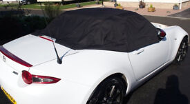 MAZDA MX-5 SOFT TOP CONVERTABLE, WEATHER COVER. TAILORED AND SECURITY FIT. EXCELLENT CONDITION.