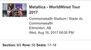 Metallica (Avenged Sevenfold and Gorjia) Tickets