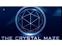 Crystal maze tickets - 27th April